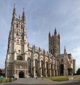 stock photo of church-of-england  - Cathedral and Metropolitan Church of Christ at Canterbury  - JPG