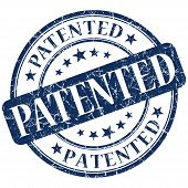 picture of plagiarism  - patented stamp  - JPG