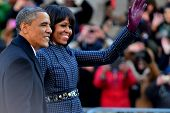 US-Präsident Barack Obama - Michelle Obama - 2013 Presidential Inauguration Day