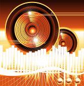 Постер, плакат: Эквалайзер фоновой музыки