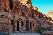 picture of valley fire  - Old Ruins In Valley Of Fire Provincial Park - JPG