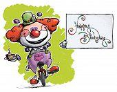 image of unicycle  - Cartoon - JPG