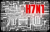 foto of avian flu  - H7N1 Concept as a Medical Research Topic - JPG