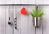 image of racks  - Valentines and mothers day background - JPG