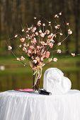 stock photo of wedding table decor  - Wedding ceremony  - JPG