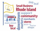 image of local shop  - Small Business word cloud illustration - JPG