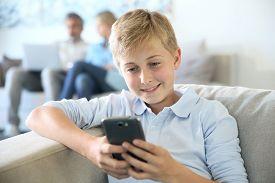 foto of pre-adolescent child  - Pre - JPG