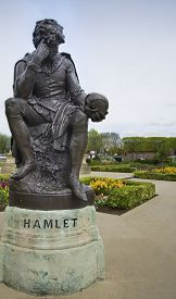 picture of hamlet  - Stratford Upon Avon - JPG