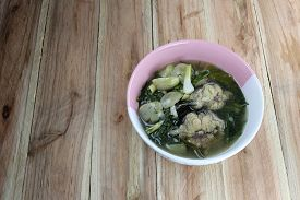 foto of om  - This is a local foods of Thailand the name is  - JPG